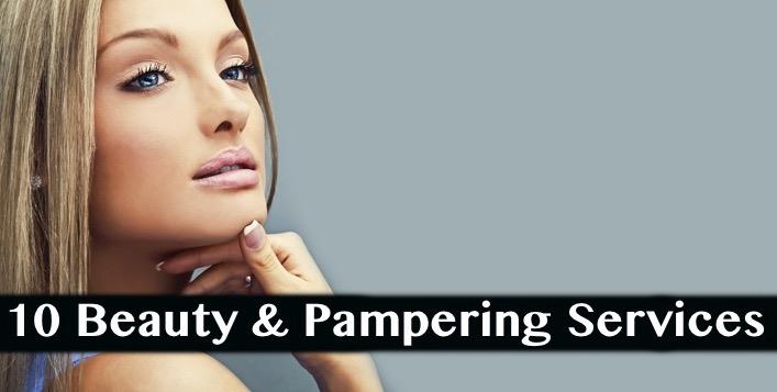 10 Beauty & Pampering Services at Glitters Beauty Salon