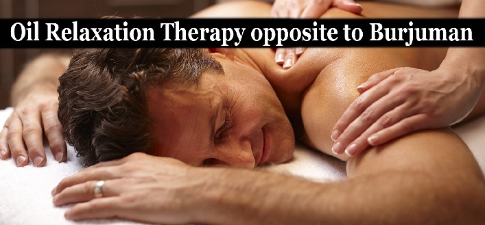 Gold Spa Oil Relaxation Therapy for 1person (AED45) & 2persons (AED79)
