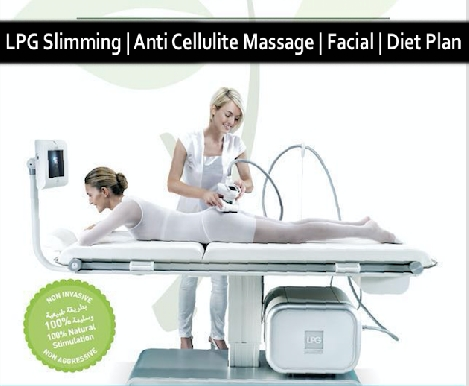 LPG Slimming & Cellulite Loss Sessions with Massage, Facial & Diet Plan
