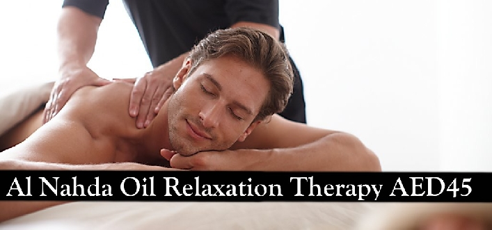 Nahda Oil Relaxation Therapy for only AED45 - Let's Relax Spa