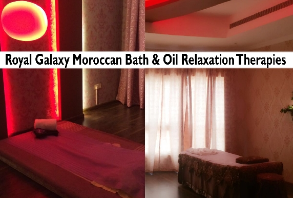 Royal Galaxy Premium Oil Therapy & Moroccan Bath Packages
