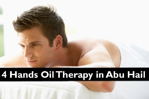 4 Hands Oil Therapy or 75mins Full Body Oil Relaxation Therapy in Abu Hail
