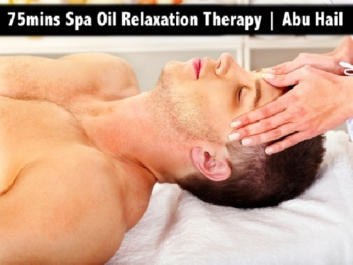75mins & 60mins Full Body Oil Relaxation Therapy in Abu Hail