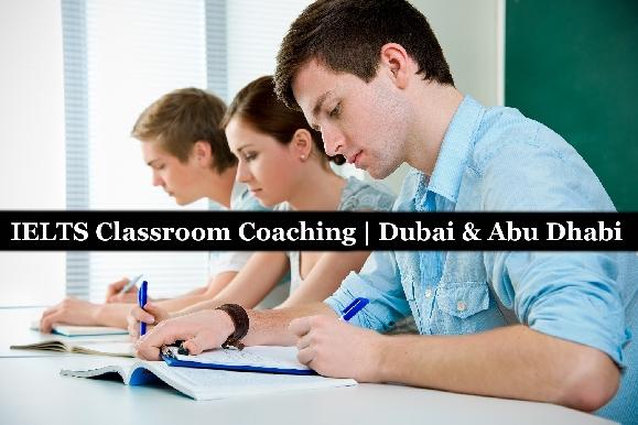 IELTS Exam Preparation 30hrs Classroom Course Dubai & Abu Dhabi