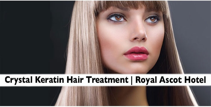 Royal Ascot Hotel - Crystal Keratin or Soft-Liss Hair Treatment with Haircut
