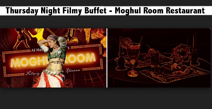 Thursday Night All You Can Eat Buffet at Moghul Room Restaurant AED59