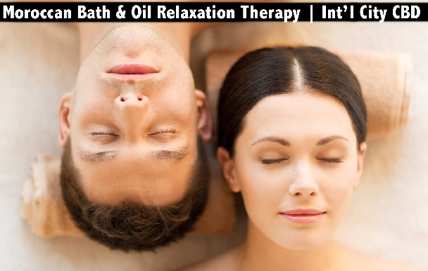International City CBD - Full Body Oil Relaxation Therapy or Moroccan Bath