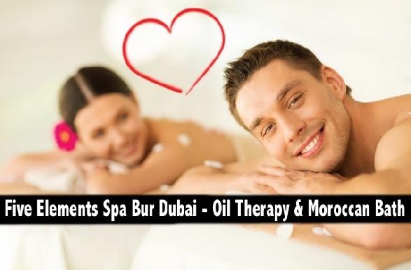 Five Elements Spa Bur Dubai - Oil Therapy & Moroccan Bath from AED69*