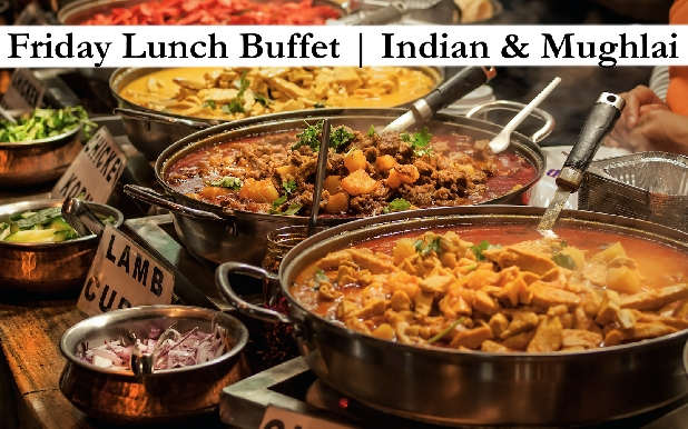 Friday Buffet with Indian & Mughlai Delicacies for only AED25