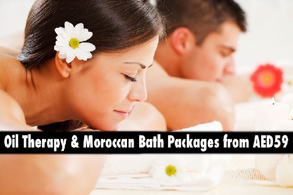 Oil Relaxation Therapy & Moroccan Bath Packages from AED59