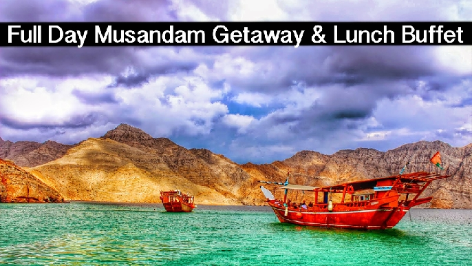 Musandam Dhow Cruise Full Day Getaway Kids (AED69) & Adults (AED115)
