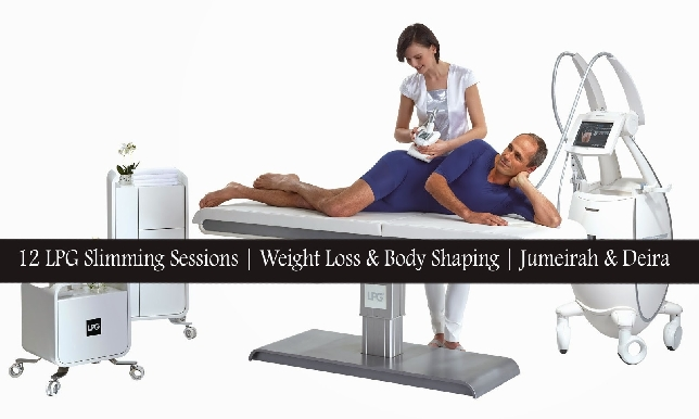 12 LPG Weight Loss, Fat Loss & Slimming Sessions in Jumeirah & Deira