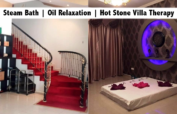 """Steam Bath, Hot Stone or Oil Relaxation at """"Excellent"""" Therapy Center"""