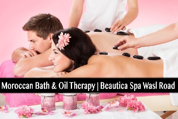Moroccan Bath, Oil or Hot Stone Relaxation Therapy at Beautice Spa - Al Wasl Rd