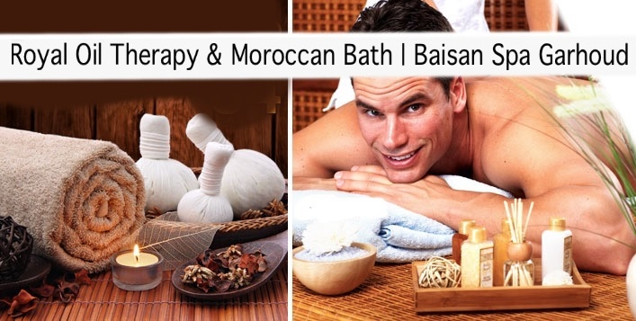Baisan Spa Garhoud - VIP Oil Therapy & Moroccan Bath Packages from AED99