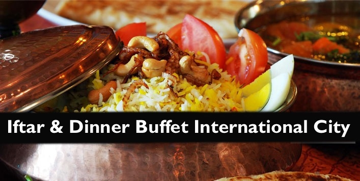 Iftar & Dinner Buffet in International City - All You Can Eat for only AED19