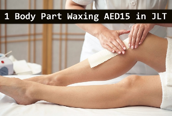 AED15 Waxing for any 1 body part at Rose Salon in JLT