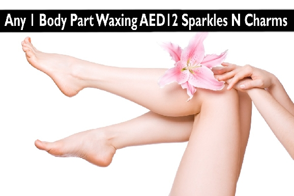 AED12 Waxing (1 Body Part Waxing) - Sparkles N Charms Women Salon