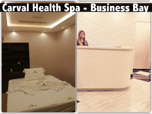 Carval Health Spa Business Bay - 60mins Spa Session & Moroccan Bath