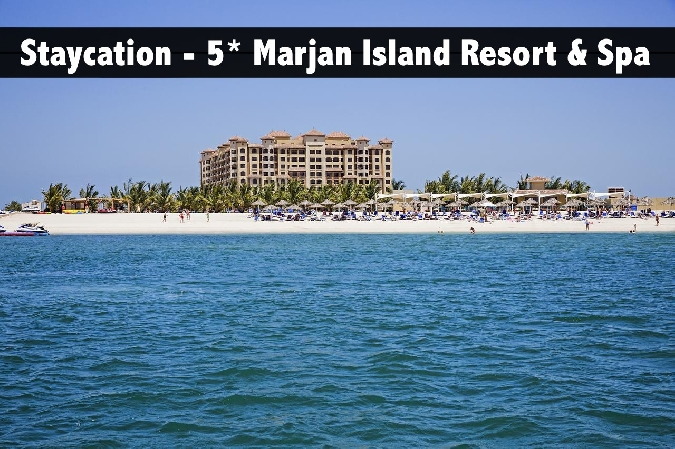 Staycation - 5* Marjan Island Resort And Spa with Breakfast