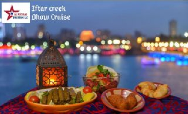 Ramadan Iftar Dhow Cruise in Deira Creek for only AED35