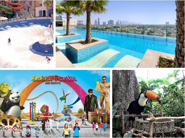 Aloft Al Mina with Laguna Waterpark or Green Planet or Dubai Parks Tickets
