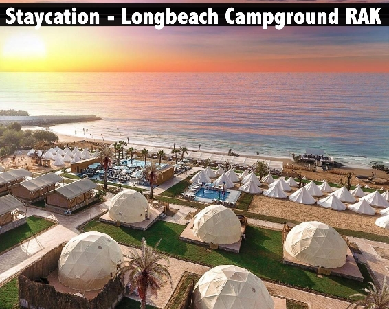 Staycation - Longbeach Campground BB or HB Available