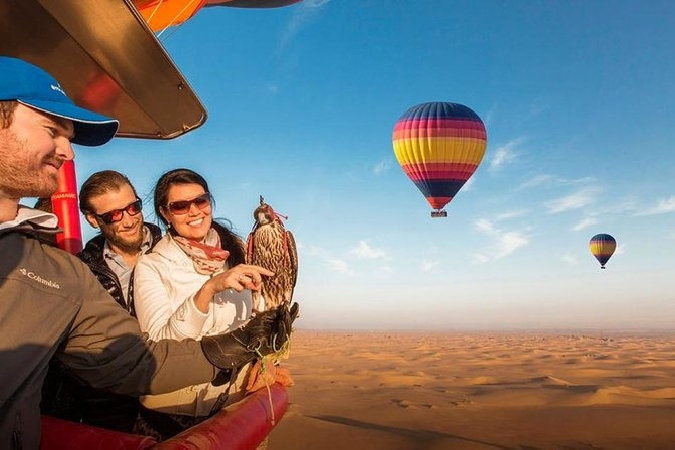 Hot Air Balloon Dubai Ride from only AED899 - Centralized Pick & Drop