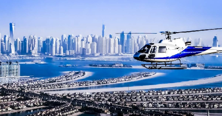 Dubai Helicopter Tours - Iconic Tour, Palm Tour or Vision Tour