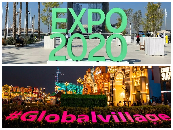 Dubai Expo 2020 (1 Day Pass or Multi Day Pass Open Dated) + Global Village Combo