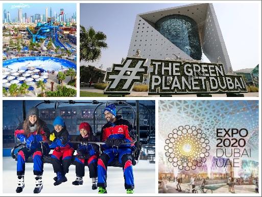 Ski Dubai | Green Planet | Laguna Waterpark | Expo 2020 - Combo Offers