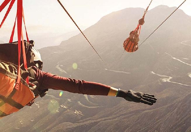 Jebel Jais Zipline Flight - RAK from only AED359