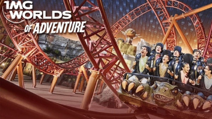 IMG Worlds of Adventure Ticket with Unlimited Rides