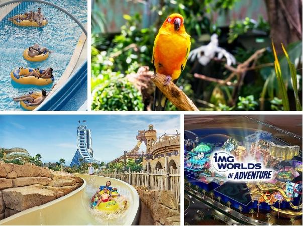 Super Combos - IMG Worlds / Wild Wadi / Green Planet / Laguna Waterpark