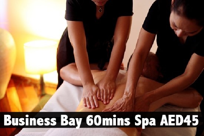 Silver Relax Spa Business Bay - 60mins Oil Relaxation Therapy AED45