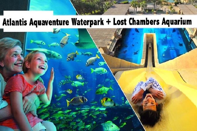 Atlantis Aquaventure Waterpark & Lost Chambers Aquarium Tickets