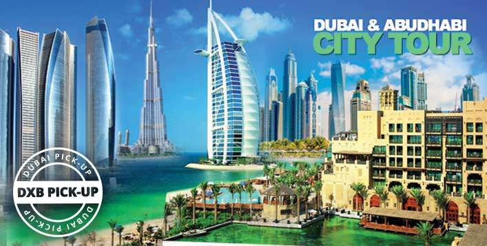 Dubai City Tour for AED59 | Abu Dhabi City Tour AED119 - Hotel Pick & Drop