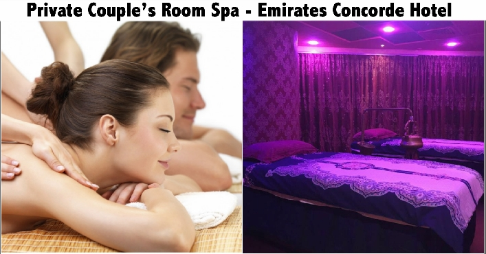 Couple's Private Room Relaxation Spa Therapy - Emirates Concorde Hotel