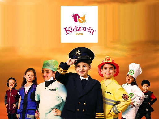 Kidzania Dubai Mall Entry Ticket - Adult & Kid Tickets Available