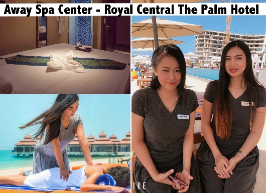 Palm Dubai VIP Thai Spa Therapy from AED129 - Away Spa Center