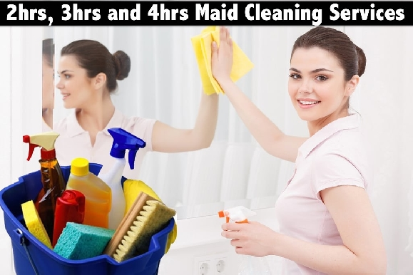 Maid Cleaning Services for Office & Home - Starting from only AED52