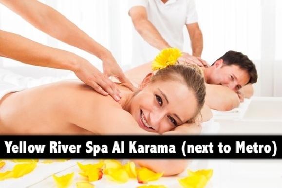 Yellow River Spa Al Karama (next to ADCB Metro) - Oil Relaxation AED59