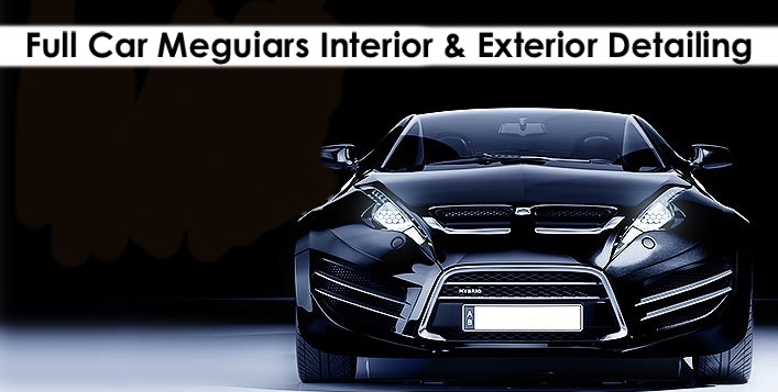 Full Car Detailing (Interior, Exterior), Meguiars Pdts, next to Al Quoz Mall