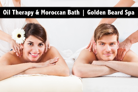 Moroccan Bath, Oil Relaxation Therapy from AED65 - Golden Beard Spa Al Barsha