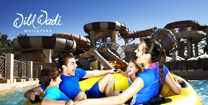 Wild Wadi General Admission Tickets with Meal for only AED199 - Valid for All
