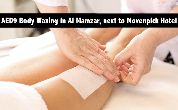 AED9 Body Waxing in Al Mamzar at The Square next to Movenpick Hotel