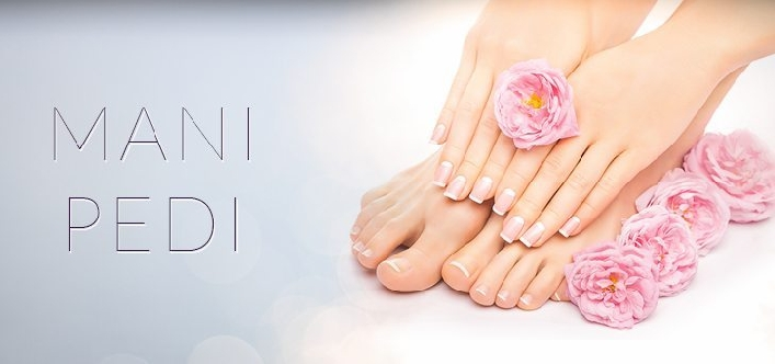 Express Manicure, Express Pedicure or Foot Massage for AED12