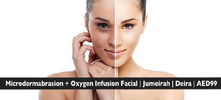 Multi-Peel Sapphire Microdermabrasion & Oxygen Infusion Facials from AED99