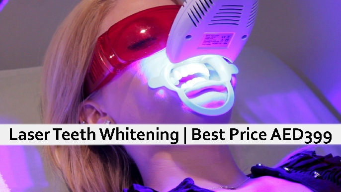 Dental Offer: Best Price Teeth Whitening in JLT - Best Price AED399