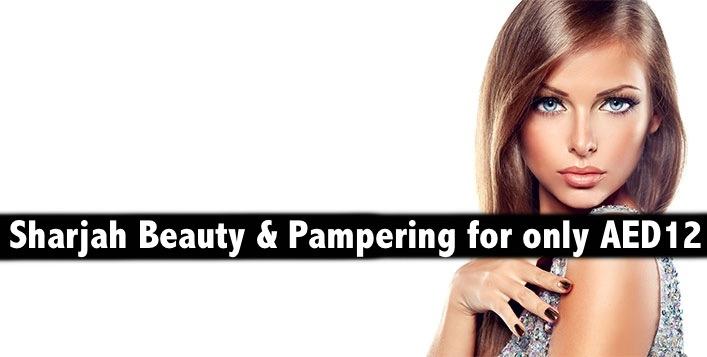 Sharjah - Mani, Pedi, Waxing, Hair Spa, Foot Spa, Facial, Blowdry (AED12)
